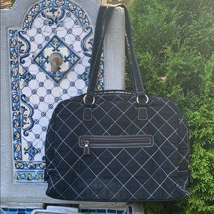 Vera Bradley quilted laptop carry case/bag